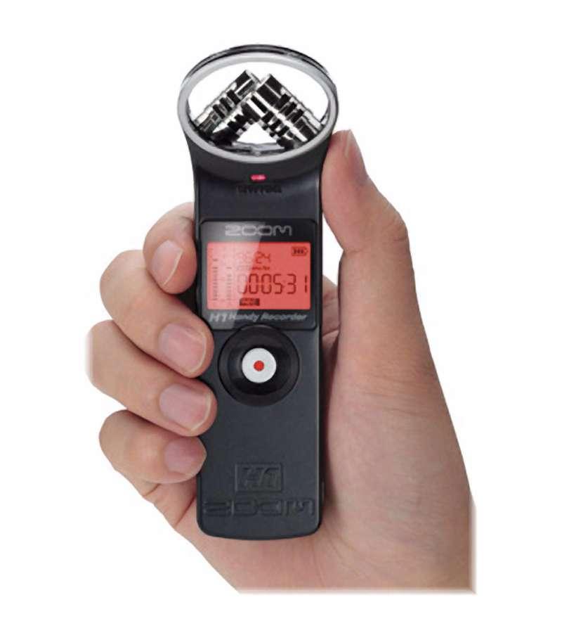 Zoom H1 Ultra Portable Digital Audio Recorder Zh1 Baab Bh